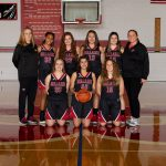 8th-grade girls' team heads into the holiday break on a winning note