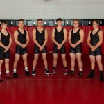 Bigg Reds' grapplers battle tough Cambridge squad on senior night Friday