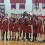 8th-grade wins in thrilling final minute to capture Tug Robson Junior-High Tournament Championship