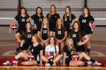 Lady Reds' volleyball team falls in straight sets to talented Harrison Central squad