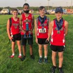 Junior-high boys' cross-country team brings home Buckeye 8 Championship