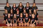 8th-grade volleyball team defeats Shadyside in straight sets