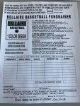 Basketball fundraiser details announced