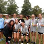 Girls Varsity Cross Country finishes 3rd place at Union City Jr/Sr High School