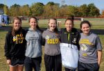 Lady Blackhawks Take 3rd Place at MEC Cross Country Meet