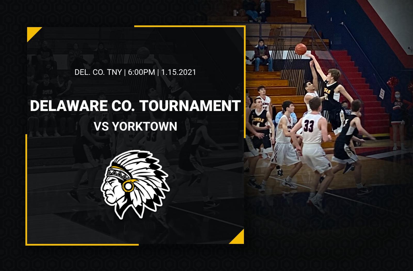 Cowan Hosts Yorktown in the Boys County Tny Semi-Final