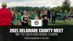2021 Delaware County HS Track Meet Info