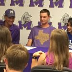 Midland High Tennis Signings