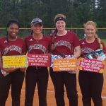 Varsity Softball Defeats Newberry on Senior Night