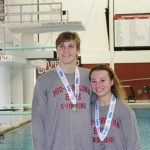 Rebels Shine at State Swim Meet