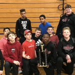 Boys Middle School Wrestling finishes 3rd place at Brawl in the Hall (MS Only)- Fairfield Central