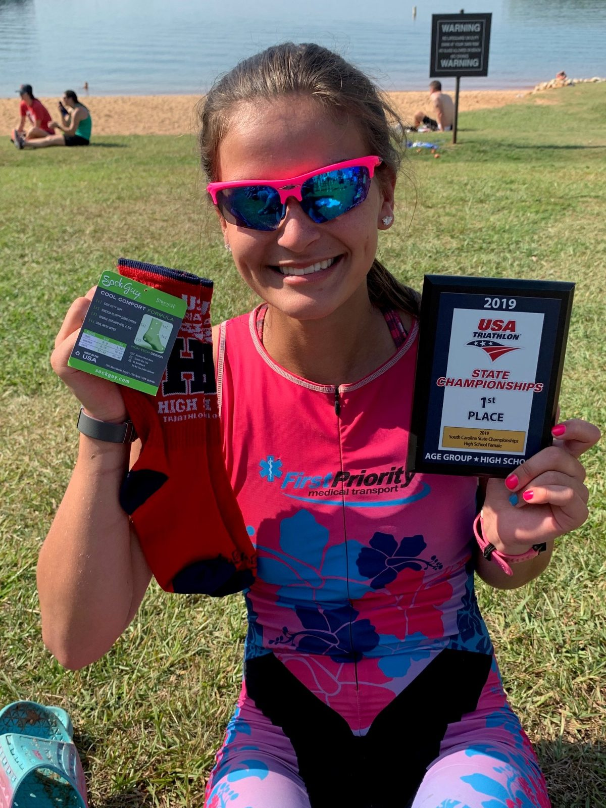 Rebel Shines in Summer Triathlon