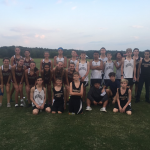 Coed Varsity Cross Country finishes 2nd place at Clinton Cross Country Meet