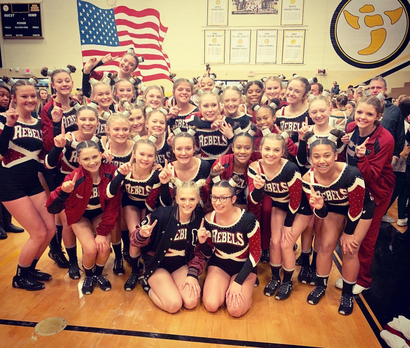 Competition Cheer one Step Closer to Defending Title