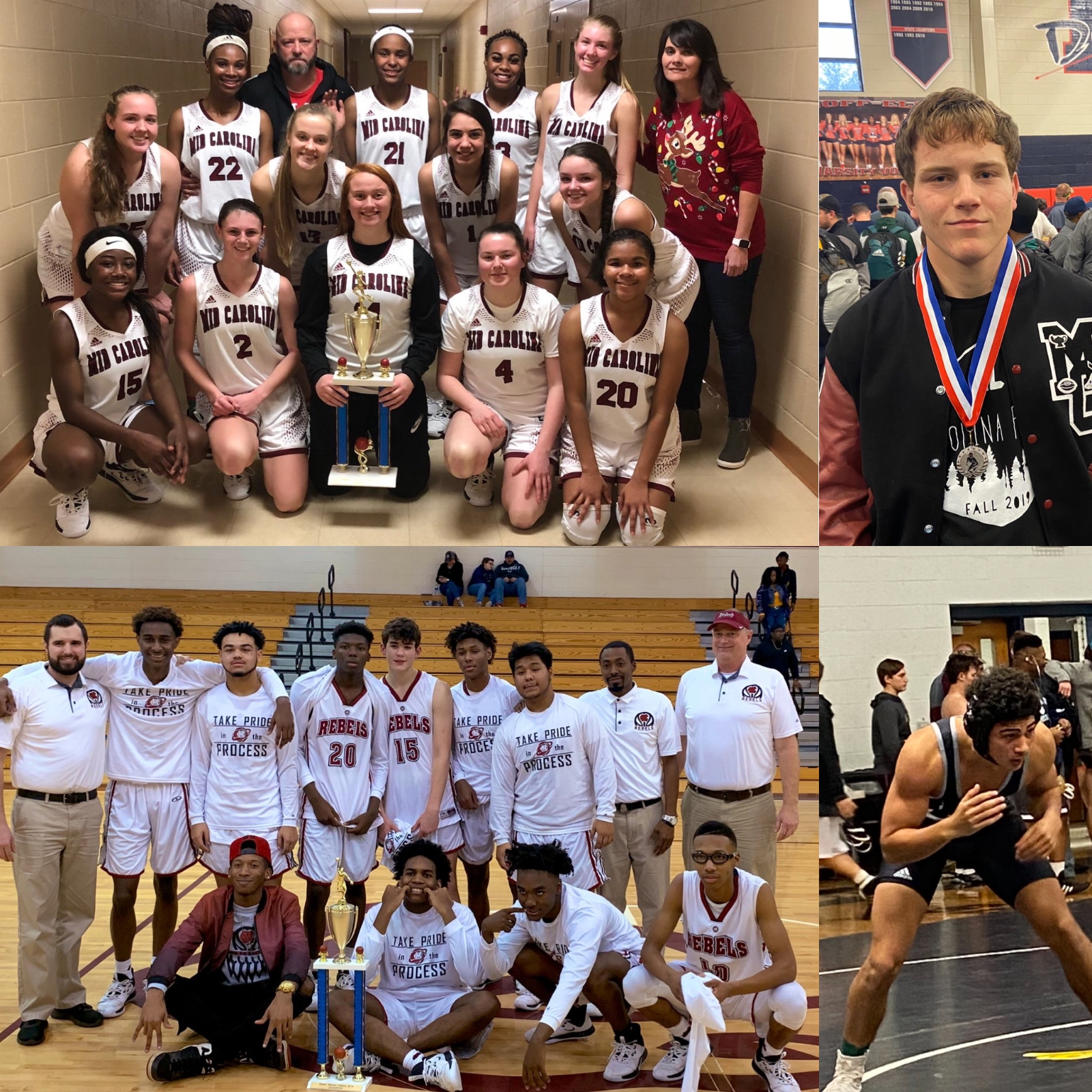 Rebels ring in the Holidays with multiple Medals and Trophys