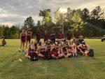 Both the Mid-Carolina Rebel Boys and Girls Cross Country teams win Region 4AAA Championship
