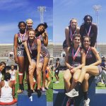 Midland Lee High School Girls Varsity Track & Field finishes 2nd place