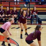 Midland Lee High School Girls Varsity Volleyball falls to Tascosa High School 3-0