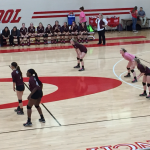 Midland Lee High School Girls Varsity Volleyball beat OHS 3-0