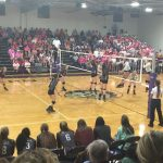 Midland Lee High School Girls Varsity Volleyball falls to MHS 3-1