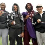Midland Lee High School Boys Varsity Track finishes 4th place