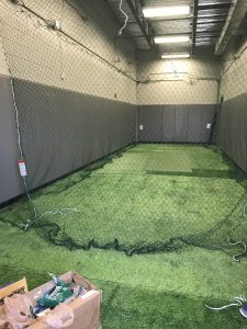 New Indoor Batting Cage