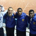 Boys' track fields two individual champs at KU