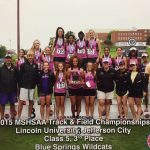 Girls Track: THIRD PLACE STATE FINISH