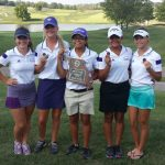 Girls golf: DISTRICT CHAMPS!