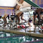 Swim/Dive Team Inches Closer Towards State's Top Programs