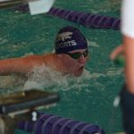 Van Hoesen Leads Swim/Dive in 147-146 Victory Over LSW Titans