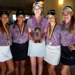 Girls Golf Opens Season with Second Place Finish at the LLG Tournament
