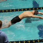 COGAN DAVIS EARNS FIRST TEAM ALL-CONFERENCE FOR BOYS SWIM/DIVE