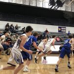 GEORGE SCORES 30 AS SOPHOMORE BOYS BBALL BEATS LEE'S SUMMIT