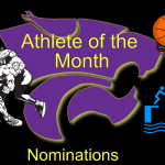 NOMINATIONS FOR DECEMBER ATHLETE OF THE MONTH
