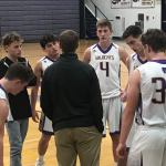 SOPHOMORE BOYS BBALL IMPROVES TO 7-3