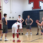 BOYS SOPHOMORE BASKETBALL DEFEATS TRUMAN, SITS AT 8-5 ON THE SEASON