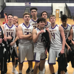 SOPHOMORE BOYS BASKETBALL ENDS SEASON WITH TWO VICTORIES