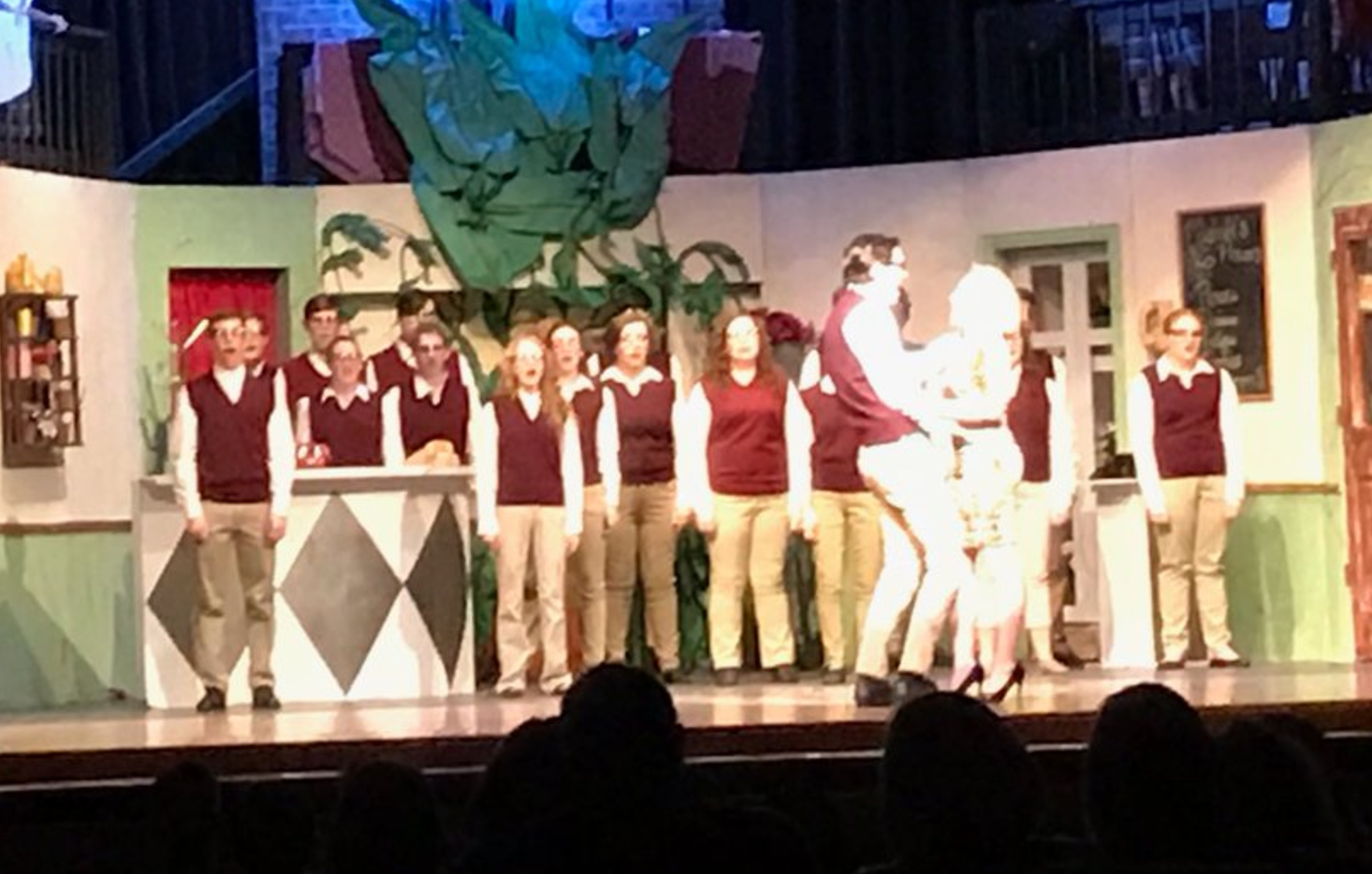 LITTLE SHOP OF HORRORS DEBUTS TOMORROW NIGHT (7:00PM)