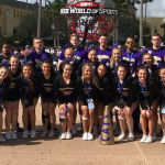 CO-ED CHEER DIGS DEEP AT NATIONAL COMPETITION