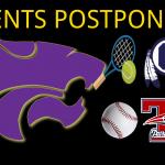 3/19 BOYS TENNIS MATCH (VS STJ CENTRAL) / JV BASEBALL (@ TRUMAN) POSTPONED