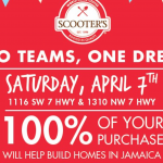 EAT/DRINK COFFEE AT SCOOTERS ON SATURDAY (FOOTBALL TEAM'S JAMAICA MISSION TRIP FUNDRAISER)