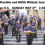 WILDCAT JAZZ ENSEMBLE AND VINE STREET RUMBLE CONCERT ON SUNDAY