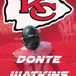 DONTE WATKINS SIGNS WITH CHIEFS