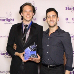 SAM AUBUCHON WINS BLUE STAR FOR BEST LEAD ACTOR (VIDEO)