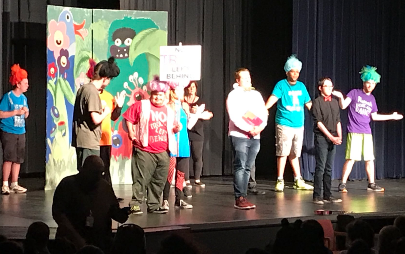 "THEATRE FUNDAMENTALS' PERFORMANCE OF ""TROLLS"" (VIDEO)"