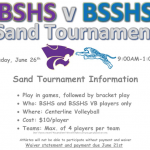 BSHS VS BSSHS SAND VOLLEYBALL TOURNAMENT INFORMATION