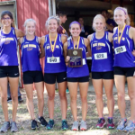 GIRLS XC EARNS 2ND AT LAKER 5K IN CAMDENTON