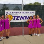 GIRLS TENNIS ADVANCES TO DISTRICT FINALS