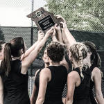 GIRLS TENNIS WINS DISTRICT CHAMPIONSHIP